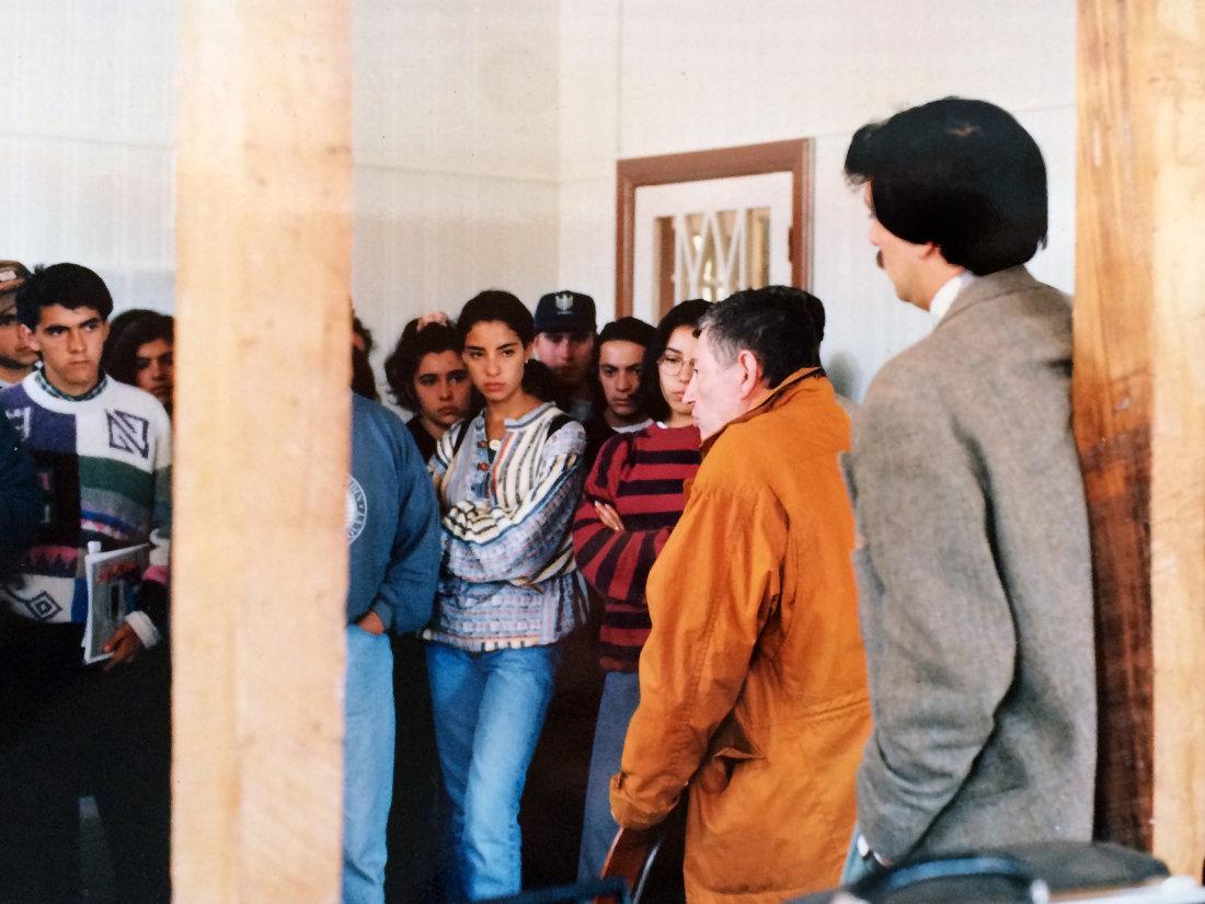 Clase Inaugural de la Escuela de Arquitectura del Sur