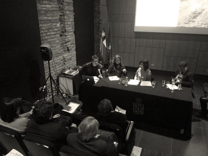 Mario Del Castillo, Claudia Castillo, Beatriz Navarrete y Lorenzo Berg en el 5to ENTHA.